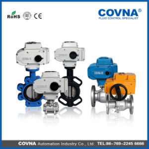 Stainless Steel Motorized Valve with Actuator