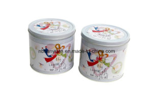 Luxury High Quality Custom Logo Printed Tin