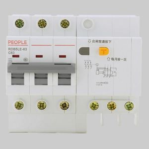 Residual Current Circuit Breaker RCBO 6ka with High Quality pictures & photos