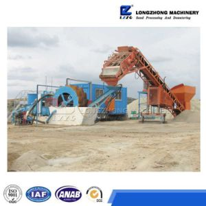 Sand Washing&Recycling Machine Working Site in South Africa pictures & photos