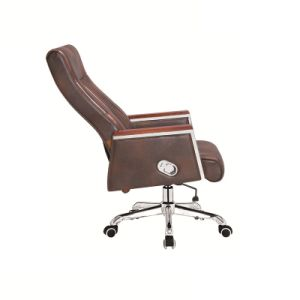 Wooden Frame Boss Chair with Soft Material and Low Price pictures & photos