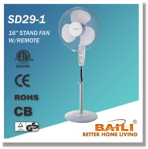 """16"""" Cooling Stand Fan with Remote Control, LCD Display pictures & photos"""