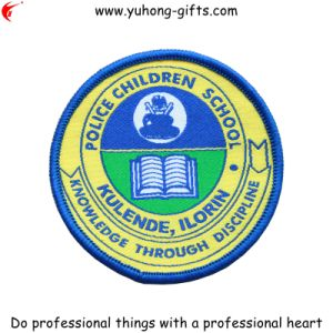 Custom School Uniform Embroidery Badge (YH-WB035) pictures & photos