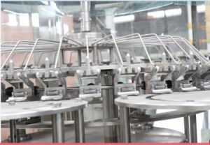 Gravity Water Filling Pet Glass Bottle Machinery pictures & photos