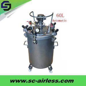 Hot Sale 10L 20L 30L 40L 60L Automatic Pressure Paint Tank pictures & photos