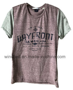 New Style T-Shirt for Men with Ideas Yarn Fabric pictures & photos