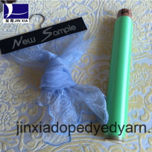 Dope Dyed Polyester Yarn Monofilament 45D/2f pictures & photos