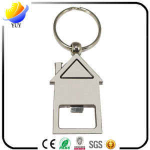 House Shape Beer Bottle Opener Keychain pictures & photos