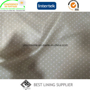 Small Dots Pattern Polyester Twill Print Lining Liner Lining Fabric pictures & photos