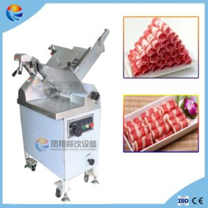 Automatic Chilled/Frozen Beef Mutton Meat Thin Slicer Slicing Cutting Cutter Machine pictures & photos