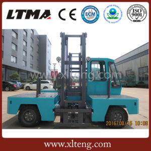 China Ltma Brand 3 Tons Electric Side Loader Forklift Truck pictures & photos