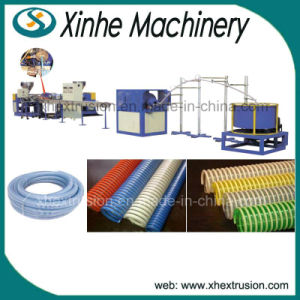 PVC Spiral Hose Production Line /13-50mm Pipe Extrusion Line/ Plastic Extruder pictures & photos