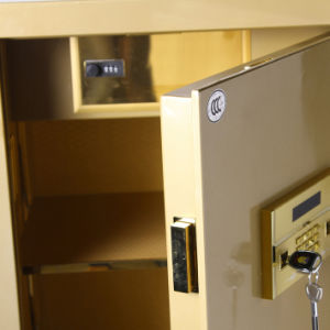 Security Home Safe Box with Digital Lock-Champagne Gold Seriers Fdx A1/D 150-Y pictures & photos