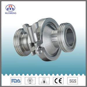 Sanitary Stainless Steel Maled Threaded Check Valve (DIN-No. RZ1303) pictures & photos