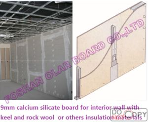 Asbestos Free Calcium Silicate Board for Ceiling & Wall Board pictures & photos