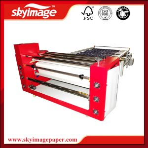 2.5m Large Width 420mm Oil Heating Press System Textile Sublimation Machine for Garments pictures & photos