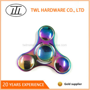 2017 Hot Rainbow Color Hand Spinner Fidget Toy pictures & photos