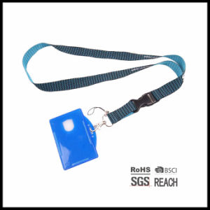 Cheap Personalised Rainbow Printed Lanyard Breakaway for ID Badge Holder pictures & photos