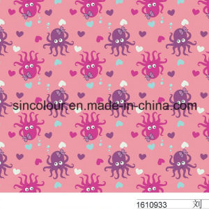 Lovely Printing for Girls Swimwear80%Nylon 20%Spandex Fabric pictures & photos