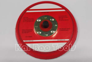 5inch Backing Pad with Hook & Loop or Vinyl for Air Sander pictures & photos