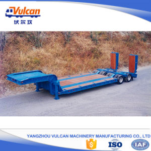 Cheap 2 Axle Low Loader Semi Trailer with ISO9001