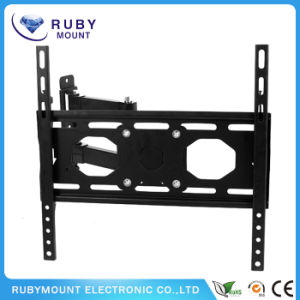 Swivel Full Motion Articulating Tilting Low-Profile TV Wall Mount Corner Bracket pictures & photos