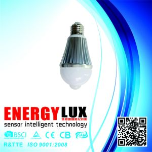 Es-B04 E27 LED Bulb with PIR Sensor pictures & photos