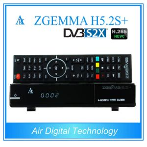H. 265 Hevc Multistream Satellite Receiver Zgemma H5.2s+ Based on E2 Linux OS with DVB-S2 + DVB-S2X +DVB-T2/C Three Tuners pictures & photos