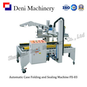 Automatic Box Folding and Sealing Machine FX-03