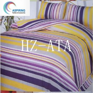 3D 4PCS Bright Colorful Bedding Set Reactive Printed Bed Sheet pictures & photos