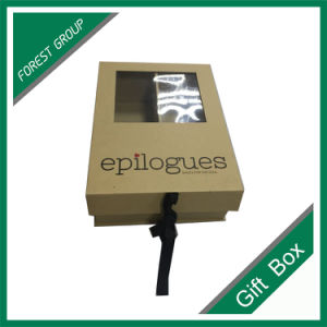 Wholesale Custom Luxury Paper Gift Box with PVC Window pictures & photos