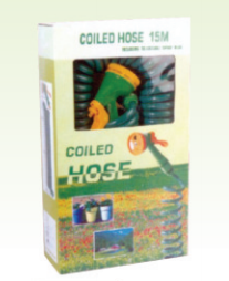 15m Coil Hose with Hose Nozzle Set pictures & photos