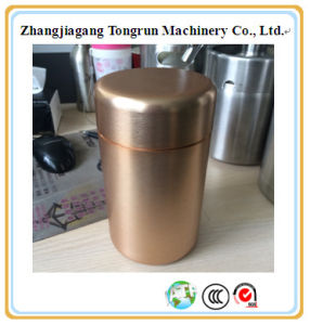 Tall Aluminum Tea Canister, Tea Container, Aluminum Metal Box pictures & photos