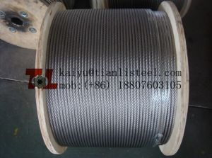 Ss304 7*7 Stainless Wire Rope pictures & photos