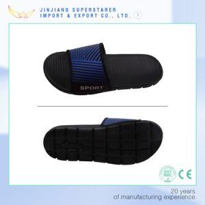 Men EVA Sole Fabric Upper Outdoor Open Toe Slipper pictures & photos