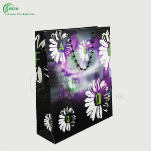 2017 New Arrival Hologram Paper Bags Laser Foil Paper Bag with Hang Tag (KG-PB037) pictures & photos