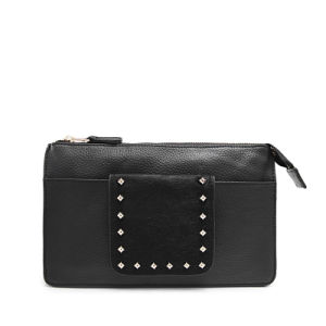 Leather and Horse Fur with Rivets Women Fashion Crossbody Bag Hot Sale Purse