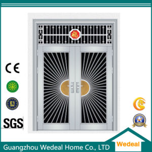 Security Double Exterior Stainless Steel Door for Villa pictures & photos