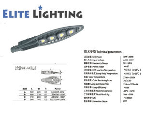 IP65 Bridgelux COB LED Street Light in Module Deisgn pictures & photos