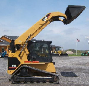 18′′x4′′x51 457*101.6*51 Multi Terrain Loader Cat 287 Compact Track Loader Track pictures & photos