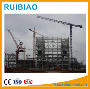 Building Construction Site Generally Using Model Qtz31.5 Tower Cranes pictures & photos