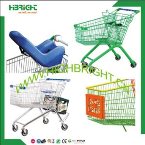 Supermarket Shopping Trolley Accessories Cart Parts Plastic Baby Capsule Seat for Sale pictures & photos