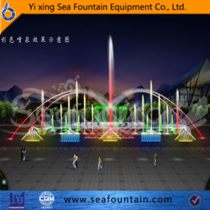 Seafountain Design Top Grade 3D Lake Floating Fountain pictures & photos