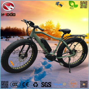 Fat Tire Electric Beach Motorcycle with Alloy Frame pictures & photos
