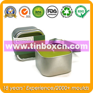 Square Candle Tin Box, Gift Tin Container, Travel Tin pictures & photos