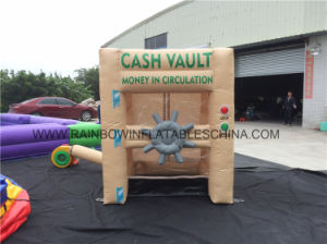 Inflatable Cash Money Grabbing Machine Game for advertisement pictures & photos