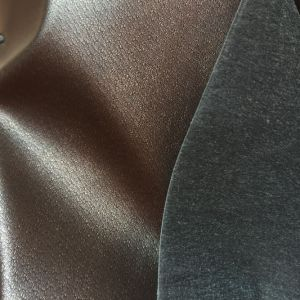Lining Fabric for Shoes Synthetic PU Leather Lining Hx-L1713 pictures & photos