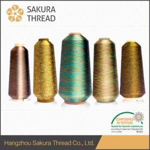 Sakura Metallic Thread for Clothes, Label Sports Clothes, Home Textiles, etc. pictures & photos