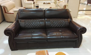 America Style Best Quality Home Furniture Leather Sofa (A54) pictures & photos