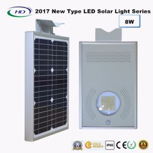 2017 New Type All-in-One Solar LED Garden Light 8W pictures & photos